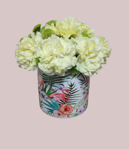 SOMBRERERA FLORAL CHICA